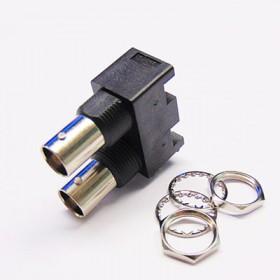 C-SX-045 - Dual Port Vertical BNC Socket