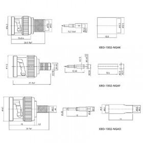 BNC Free Cable Plug