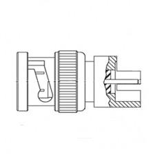 C-SX- 102 - PCB Edge Mounted BNC Plug