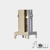 C-SX-123ZZR2 - Square Based Top Entry BNC Connector (Long Body)