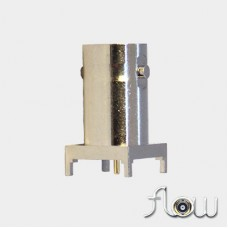 C-SX-123ZZR1 - Square Based Top Entry BNC Connector (Long Body)