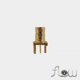 C-SX-140ZZR2 - Top Entry 3 Pin Short Body Micro BNC Connector