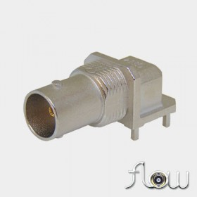 C-SX-144HTR2 - Flow Right Angle Mounting BNC Bulkhead Socket