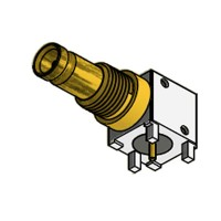 C-SX-148 - Right Angle DIN 1.0/2.3 Bulkhead Connector