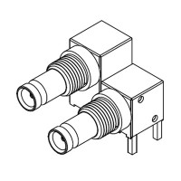 C-SX-161 - Dual Port DIN 1.0/2.3 Bulkhead Connector