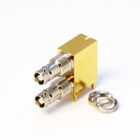 C-SX-183 - Dual Port Right Angle Micro BNC Connector