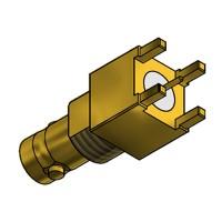C-SX-188 - Top Entry Micro BNC Bulkhead Socket