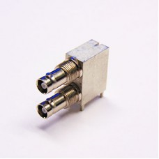 Dual Port Micro BNC Connector