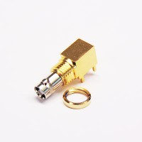 C-SX-194 - Right Angled Micro BNC Connector (slim body)