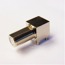 C-SX-215 - Right Angle Surface Mounting F Connector