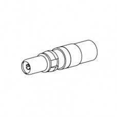 Mixed Layout Contact 75 Ohm Coaxial Plug for Belden 1855A