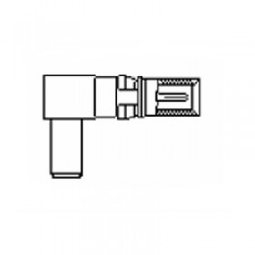 Coaxial Cable Plug for AN Cables