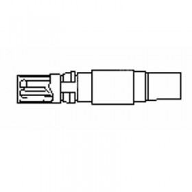Coaxial Cable Socket for AF Cables
