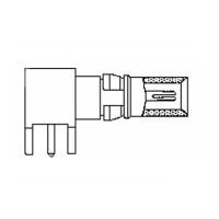 Coaxial PCB Plug