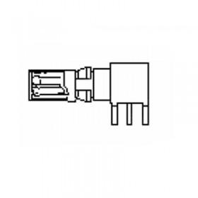 Coaxial PCB Socket