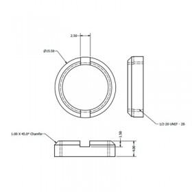 Circular BNC Nut
