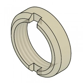 71X-0046-00 - Nylon Circular BNC Nut