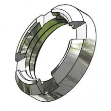 4 Slot Circular 1.0 / 2.3 Nut