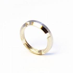 71X-0057-33 - 4 Slot Circular BNC Nut