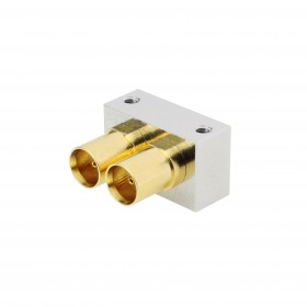 XJT-A011-GGAY - 12GHz PCB Dual Edge Mounted MCX Connector