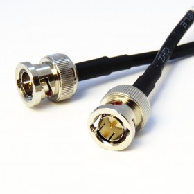 6GHz BNC (m) to BNC (m) Patch Cables - RG59 Cable