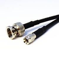 6GHz DIN 1.0/2.3 (m) to BNC (m) Coaxial Cable Assembly - RG59 Cable