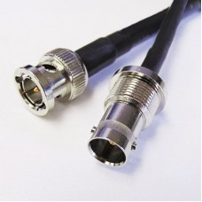 12GHz BNC (f) to BNC (m) Patch Cables - Belden 4505R Cable
