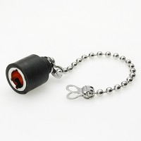 C-SX-122 - Mini BNC Waterproof Cap With Ball Chain