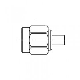 SMA Cable Mounted Plug