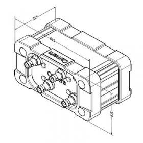 Xtensa Challenger - Quad Port Micro BNC CXP Repeater