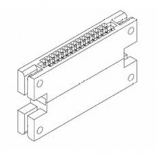 "Card Edge Header 2.54mm [.100""] Contact Centres"