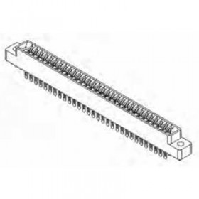 "Card Edge Header 3.18mm [.125""] Contact Centres, 10.95mm [.431""] Insulator Height"
