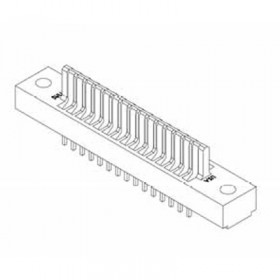 "Card Edge Header 2.54mm [.100""] Contact Centres, 13.72mm [.540""] Insulator Height"