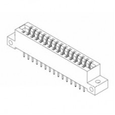 "Card Edge Header 3.96mm [.156""] Contact Centres, 15.49mm [.610""] Insulator Height"