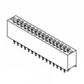 "Card Edge Header 3.96mm [.156""] Contact Centres, 13.97mm [.550""] or 15.49mm [.610""] Insulator Height"