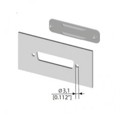 D Cut Out Cover Plates (Shell Size 1)