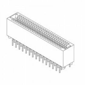 "Card Edge Header 1.27mm [.050""] Contact Centres, 12.40 [.488""] Insulator Height"