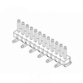 "Card Edge Header 1.27mm [.0.50""] Contact Centres (Male)"