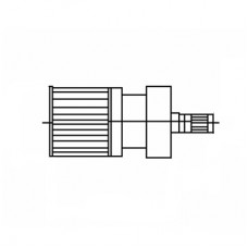 DIN 1.6 / 5.6 Cable Mounted Plug