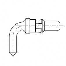 High Power Right Angle Plug Contact (20A)