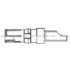 High Power Straight Crimp Socket Contact (10A - AWG 16-20)