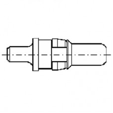 High Power Straight Plug Contact (20A)
