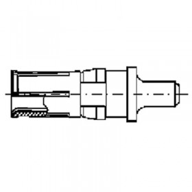 High Power Straight Socket Contact (40A)