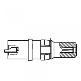 High Voltage Straight Plug Contact