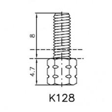Lock Nut Stud (8mm M3)