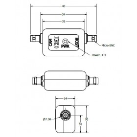 Xtensa Neuron - Single Port Micro BNC CXP Repeater