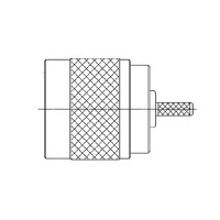 N Series Cable Mounted Plug
