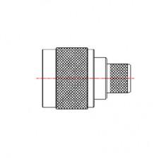 N Series Cable Mounted Plug