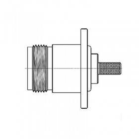 N Series Bulkhead Socket