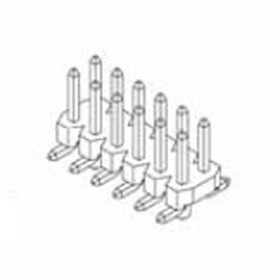 "Card Edge Header 2.00mm [.079""] Contact Centres (Male)"